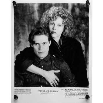 POLICE FEDERALE LOS ANGELES Photo de presse 20x25 cm - N01 1984 - Willem Dafoe, William Friedkin