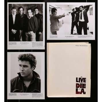 TO LIVE AND DIE IN LA Presskit 8x10 in. - 1984 - William Friedkin, Willem Dafoe