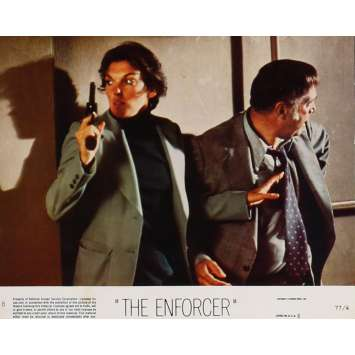 THE ENFORCER Lobby Card 8x10 in. - N08 1976 - James Fargo, Clint Eastwood