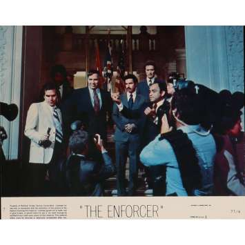 THE ENFORCER Lobby Card 8x10 in. - N07 1976 - James Fargo, Clint Eastwood
