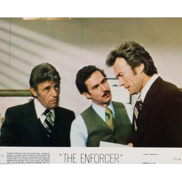 THE ENFORCER Lobby Card 8x10 in. - N06 1976 - James Fargo, Clint Eastwood
