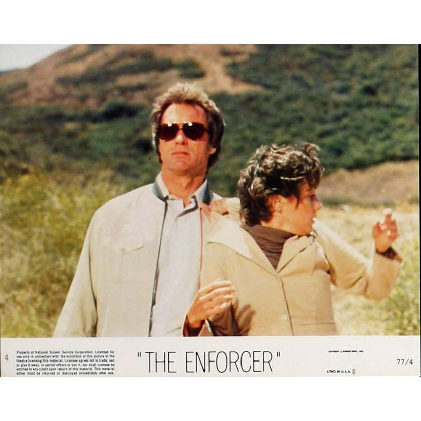 THE ENFORCER Lobby Card 8x10 in. - N04 1976 - James Fargo, Clint Eastwood