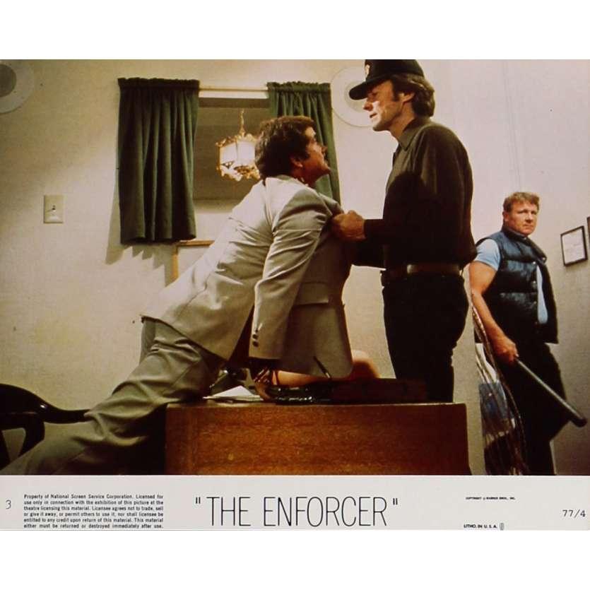 THE ENFORCER Lobby Card 8x10 in. - N03 1976 - James Fargo, Clint Eastwood