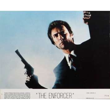 THE ENFORCER Lobby Card 8x10 in. - N02 1976 - James Fargo, Clint Eastwood