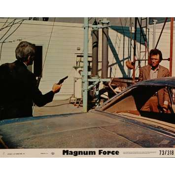 MAGNUM FORCE Lobby Card 8x10 in. - N03 1973 - Ted Post, Clint Eastwood