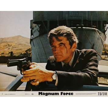 MAGNUM FORCE Lobby Card 8x10 in. - N02 1973 - Ted Post, Clint Eastwood