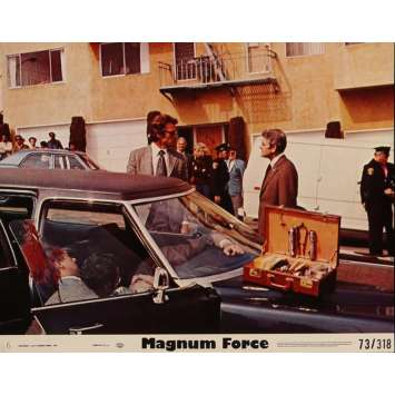 MAGNUM FORCE Lobby Card 8x10 in. - N01 1973 - Ted Post, Clint Eastwood