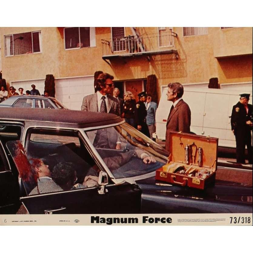 MAGNUM FORCE Photo de film 20x25 cm - N01 1973 - Clint Eastwood, Ted Post