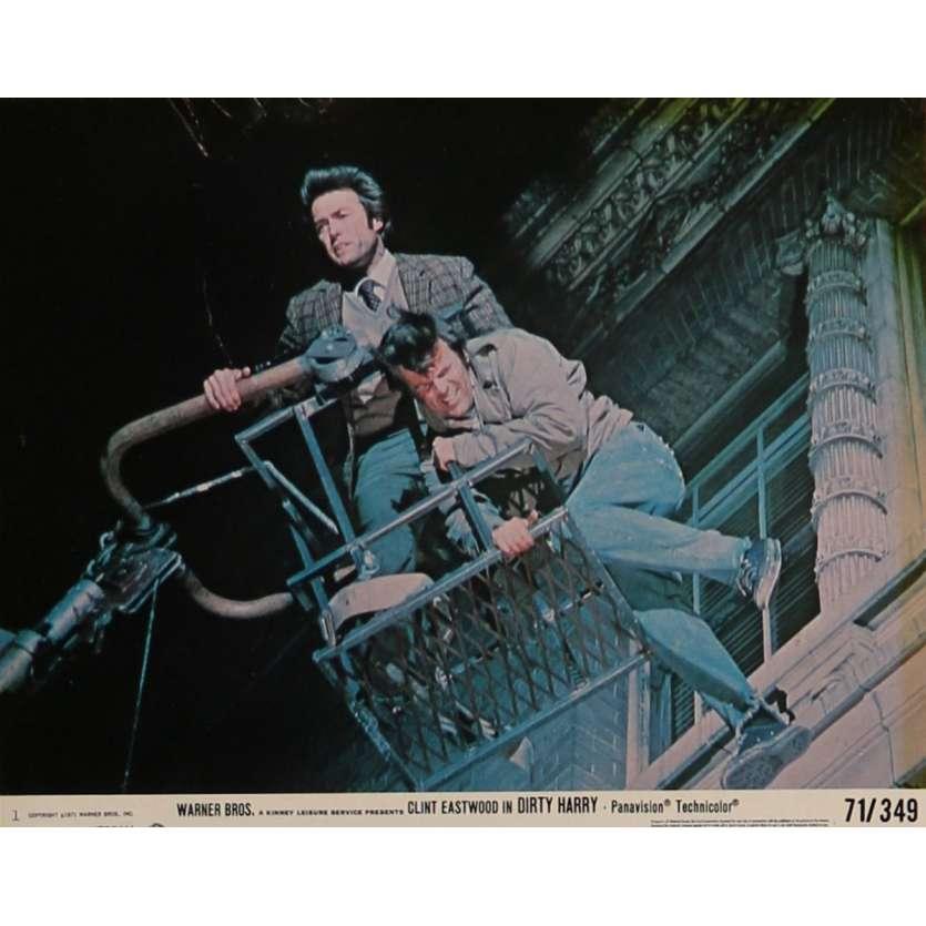 DIRTY HARRY Lobby Card 8x10 in. - 1971 - Don Siegel, Clint Eastwood