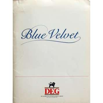 BLUE VELVET Presskit 20x25 cm - 1986 - Isabella Rosselini, David Lynch