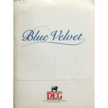 BLUE VELVET Presskit 8x10 in. - 1986 - David Lynch, Isabella Rosselini
