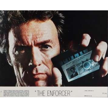 L'INSPECTEUR NE RENONCE JAMAIS Photo d'exploitation US '76 Clint Eastwood Dirty Harry