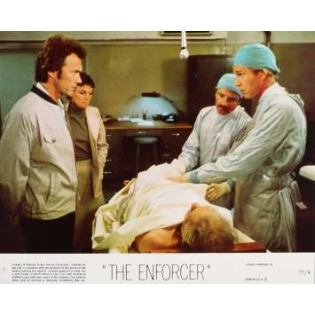 THE ENFORCER Lobby Card 8x10 in. - N05 1976 - James Fargo, Clint Eastwood