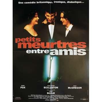 PETITS MEURTRES ENTRE AMIS Affiche de film 40x60 cm - 1994 - Ewan McGregor, Danny Boyle