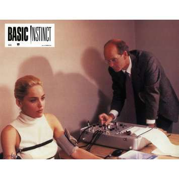 BASIC INSTINCT Photo de film 21x30 cm - N03 1992 - Sharon Stone, Paul Verhoeven