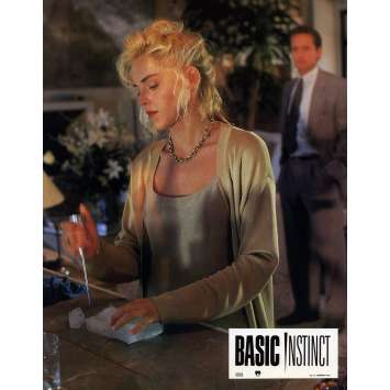 BASIC INSTINCT Photo de film 21x30 cm - N01 1992 - Sharon Stone, Paul Verhoeven
