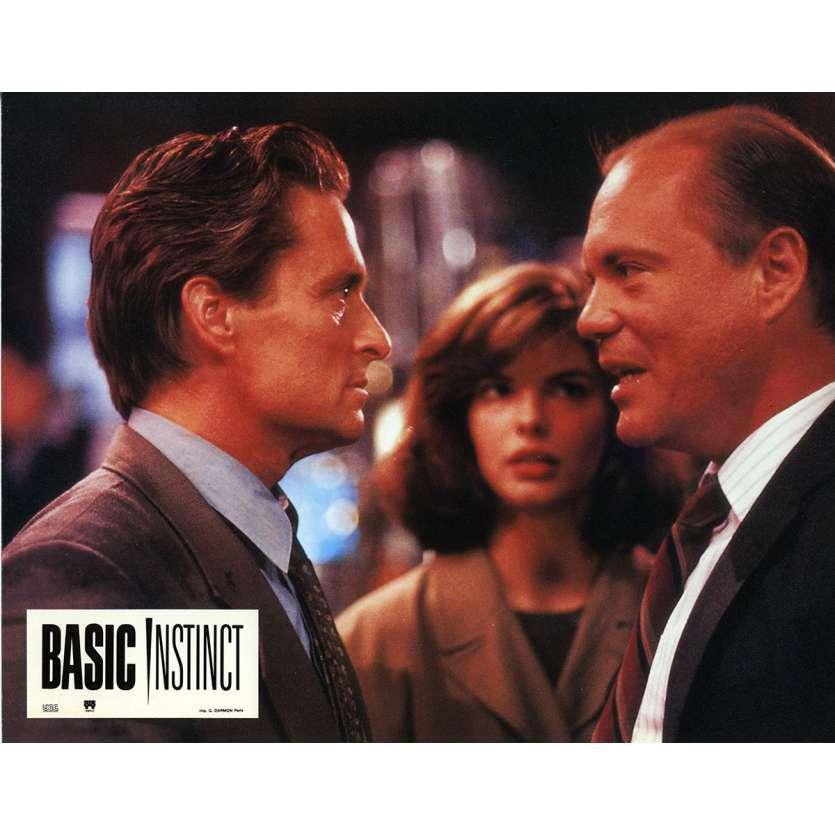 BASIC INSTINCT Lobby Card 9x12 in. - N02 1992 - Paul Verhoeven, Sharon Stone