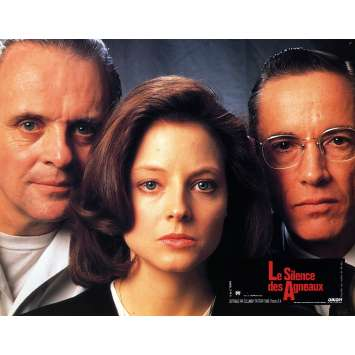 THE SILENCE OF THE LAMBS Lobby Card 9x12 in. - N08 1991 - Jonathan Demme, Anthony Hopkins