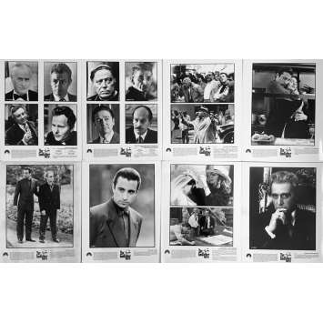 THE GODFATHER III Movie Stills 8x10 in. - x8, set B 1990 - Francis Ford Coppola, Al Pacino