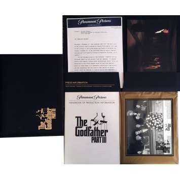 THE GODFATHER III Presskit 8x10 in. - 1990 - Francis Ford Coppola, Al Pacino