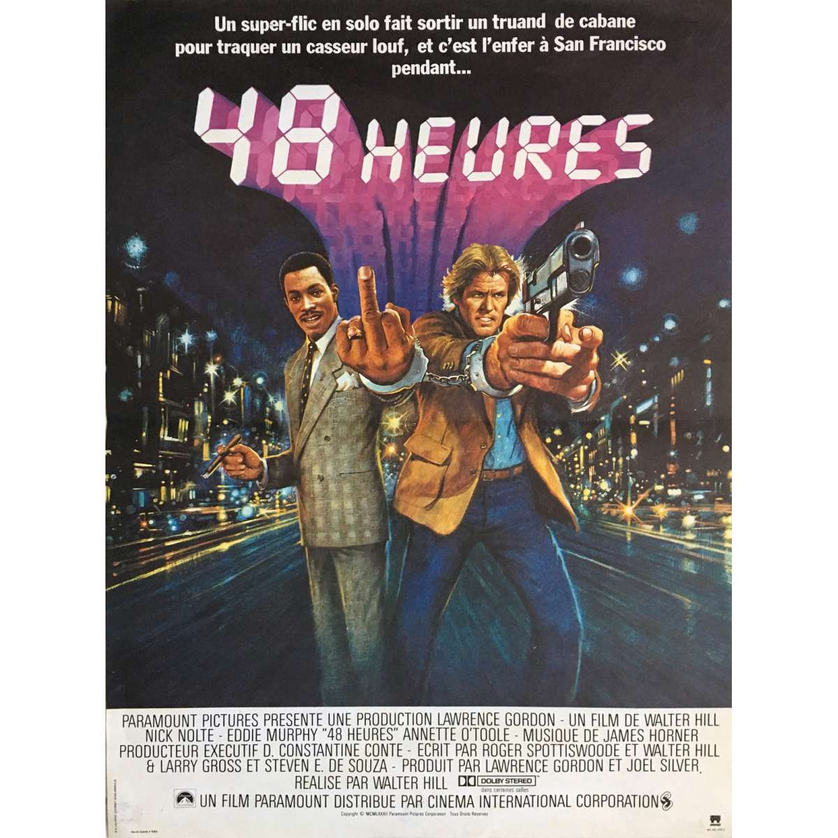 48 hours movie poster