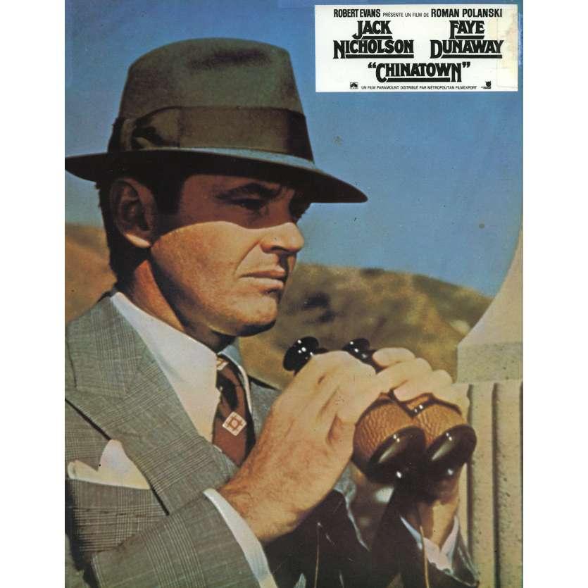 CHINATOWN French Lobby Card 9x12 - 1974 - Roman Polanski, Jack Nicholson