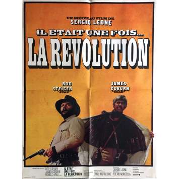 A FISTFUL OF DYNAMITE Movie Poster 23x32 in. - 1971 - Sergio Leone, James Coburn