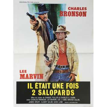 THE MEANEST MEN IN THE WEST Movie Poster 23x32 in. - 1978 - Samuel Fuller, Charles Bronson