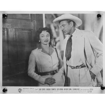LE SOUFFLE SAUVAGE Photo de presse 20x25 cm - N04 1953 - Gary Cooper, Hugo Fregonese