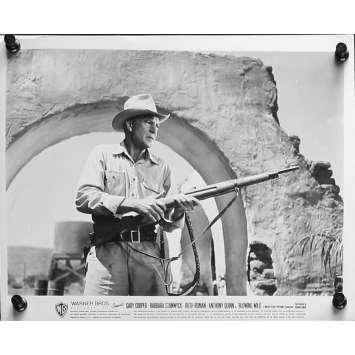 LE SOUFFLE SAUVAGE Photo de presse 20x25 cm - N01 1953 - Gary Cooper, Hugo Fregonese