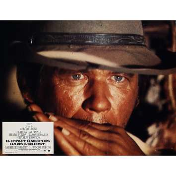 ONCE UPON A TIME IN THE WEST Lobby Card 9x12 in. - N08 R1970 - Sergio Leone, Henry Fonda