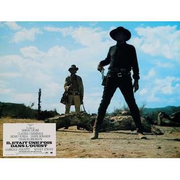 IL ETAIT UNE FOIS DANS L'OUEST Photo de film 21x30 cm - N07 R1970 - Henry Fonda, Sergio Leone