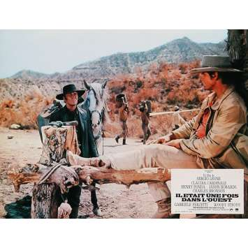 ONCE UPON A TIME IN THE WEST Lobby Card 9x12 in. - N06 R1970 - Sergio Leone, Henry Fonda