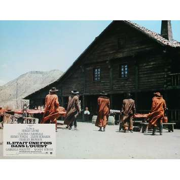 ONCE UPON A TIME IN THE WEST Lobby Card 9x12 in. - N05 R1970 - Sergio Leone, Henry Fonda