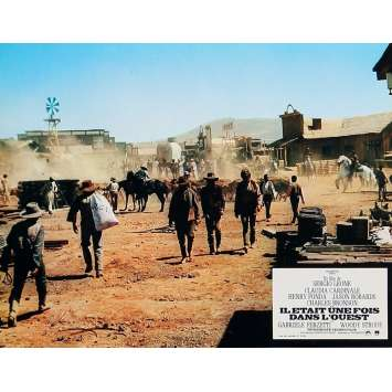 ONCE UPON A TIME IN THE WEST Lobby Card 9x12 in. - N04 R1970 - Sergio Leone, Henry Fonda