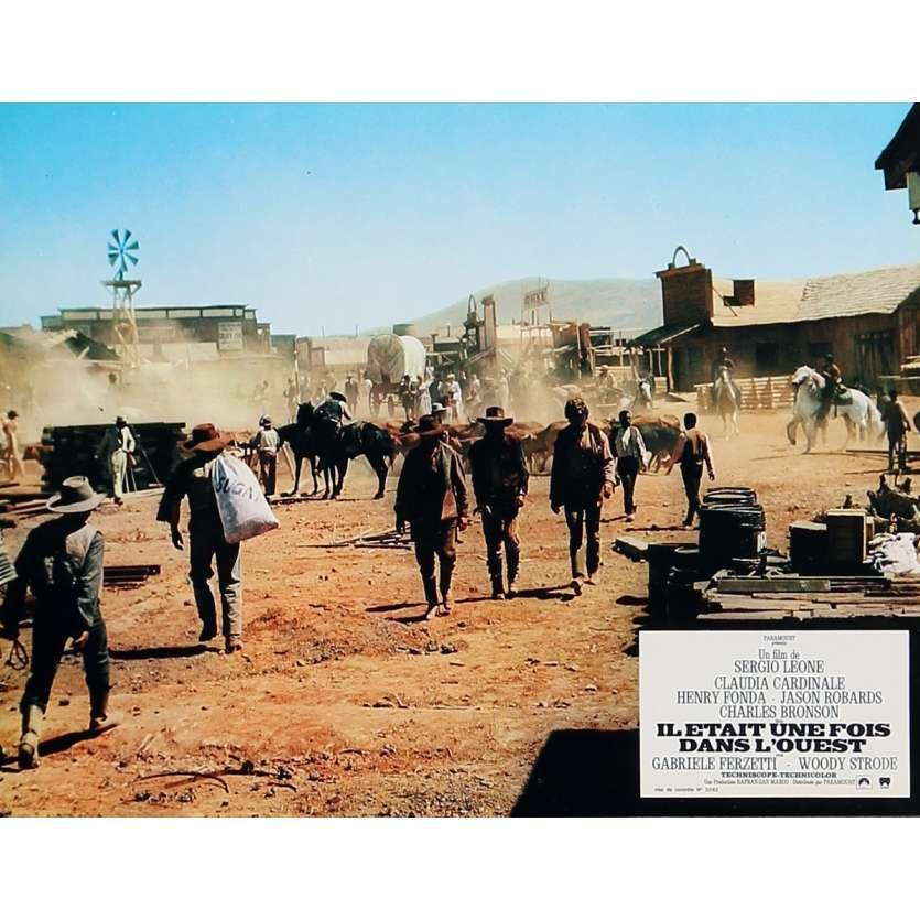 IL ETAIT UNE FOIS DANS L'OUEST Photo de film 21x30 cm - N04 R1970 - Henry Fonda, Sergio Leone