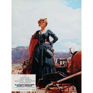 ONCE UPON A TIME IN THE WEST Lobby Card 9x12 in. - N03 R1970 - Sergio Leone, Henry Fonda