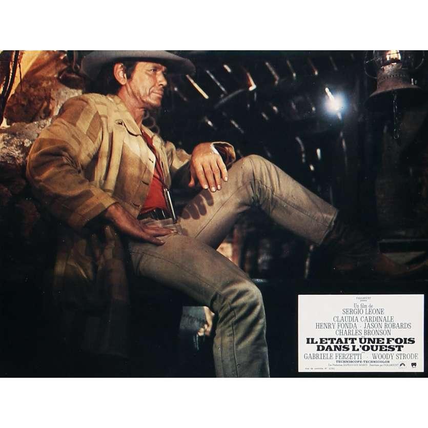 IL ETAIT UNE FOIS DANS L'OUEST Photo de film 21x30 cm - N02 R1970 - Henry Fonda, Sergio Leone