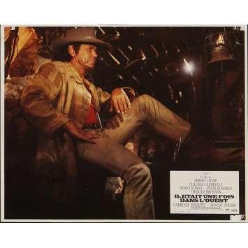 IL ETAIT UNE FOIS DANS L'OUEST Photo de film 21x30 cm - N04 1968 - Henry Fonda, Sergio Leone