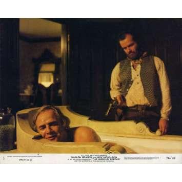 MISSOURI BREAKS Photo de film 20x25 cm - 1976 - Jack Nicholson, Arthur Penn