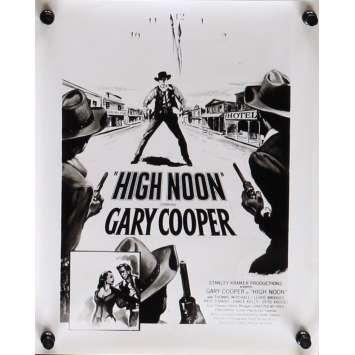 LE TRAIN SIFFLERA TROIS FOIS Photo de presse 20x25 cm - N06 1952 - Gary Cooper, Fred Zinnemann