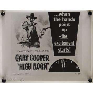 HIGH NOON Movie Still 8x10 in. - N03 1952 - Fred Zinnemann, Gary Cooper