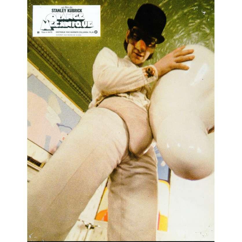 CLOCKWORK ORANGE French Lobby Card N2 '71 Stanley Kubrick