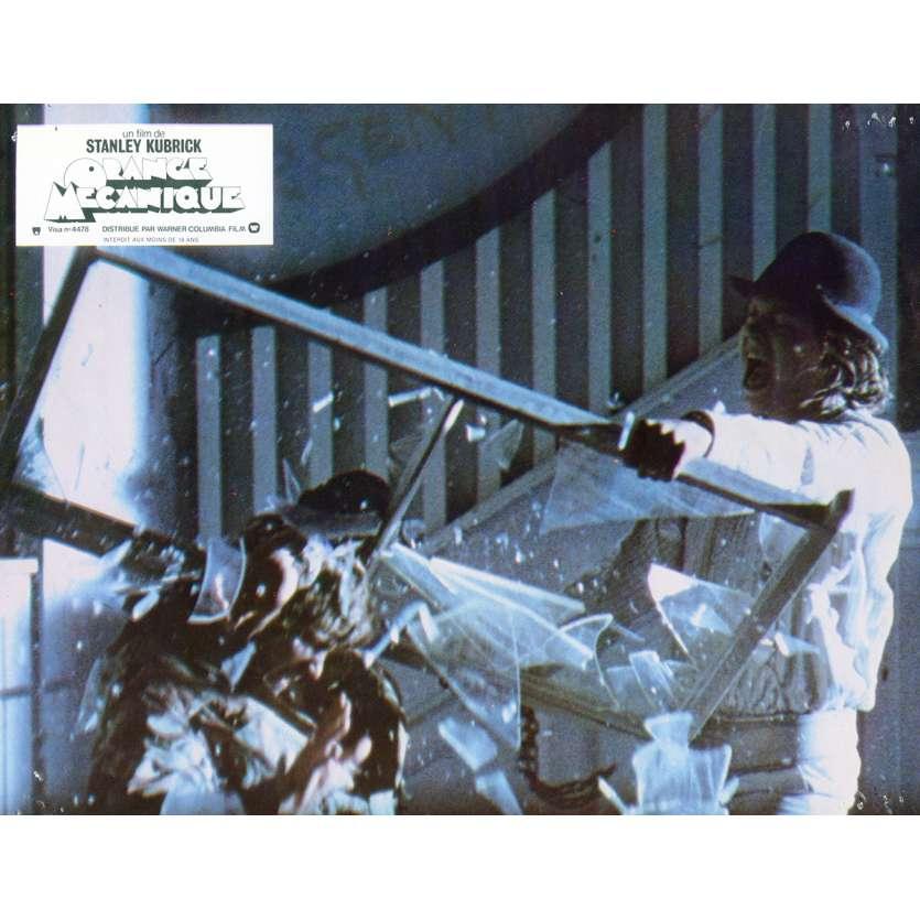 CLOCKWORK ORANGE French Lobby Card N6 '71 Stanley Kubrick