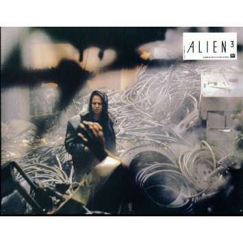 ALIEN III French Lobby Card 1 9x12 - 1992 - David Fincher, Sigourney Weaver