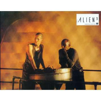 ALIEN 3 Lobby Card 9x12 in. - N03 1992 - David Fincher, Sigourney Weaver