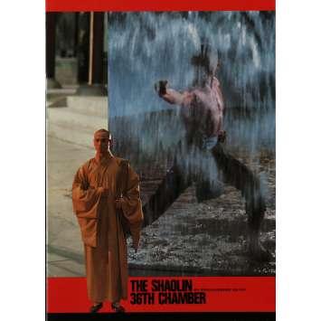 LA 36EME CHAMBRE DE SHAOLIN Programme 21x30 cm - 20P 1978 - Gordon Liu, Chia-Liang Liu