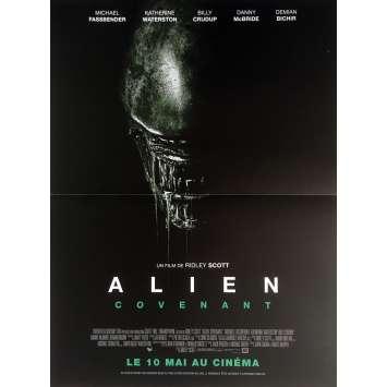 ALIEN COVENANT Affiche de film 40x60 cm - 2017 - Michael Fassbender, Ridley Scott
