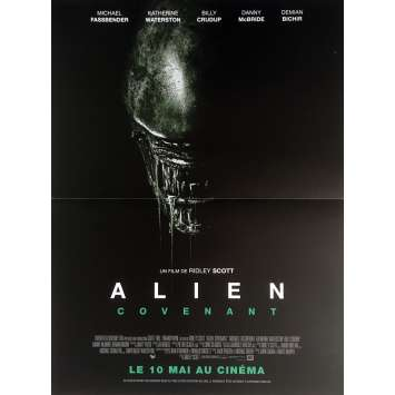 ALIEN COVENANT Movie Poster 15x21 in. - 2017 - Ridley Scott, Michael Fassbender
