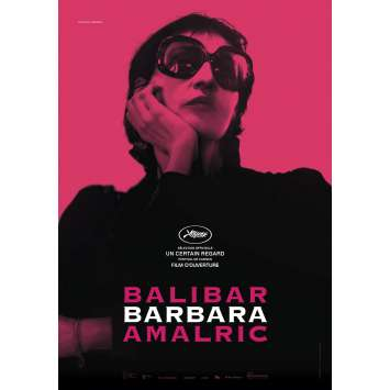 BARBARA Movie Poster 15x21 in. - 2017 - Mathieu Amalric, Jeanne Balibar